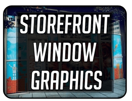 Storefront Window Lettering and graphics