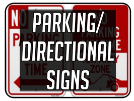 Parking and Directional Signs